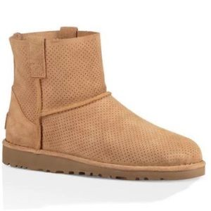UGG Australia Classic Unlined Mini Perf Boot Tawny